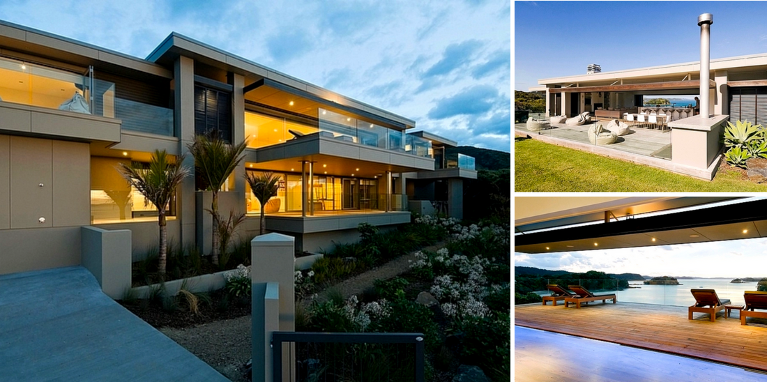 Bachcare's Top 10 - Family Reunion Holiday Homes NZ - Oke Beach House - Rawhiti Luxury