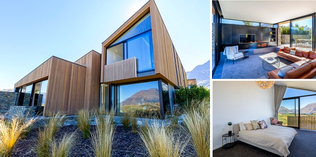 Bachcare's Top 10 - Family Reunion Holiday Homes NZ - Point Vista - Queenstown Luxury