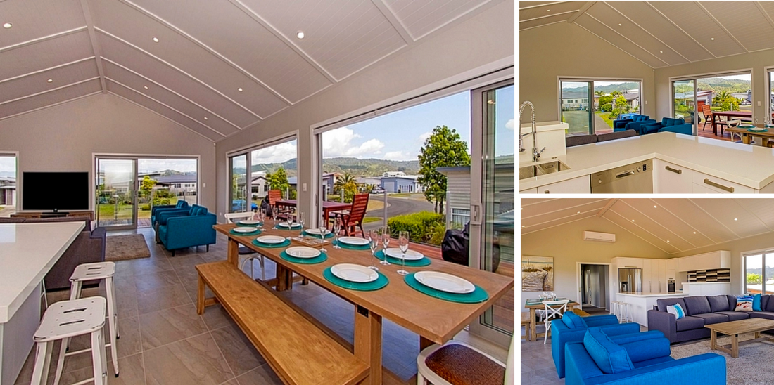 Bachcare's Top 10 - Family Reunion Holiday Homes NZ - Taatletails Rest - Whitianga Holiday House