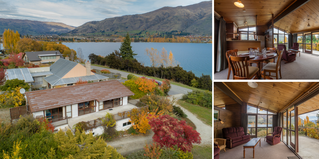 Lakeside Escape - Wanaka Holiday Bach