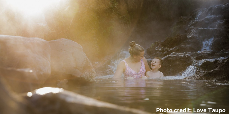 best things to do in taupo - hot springs
